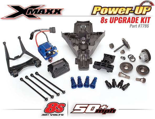 Power-UP 8S Upgrade Kit | Traxxas
