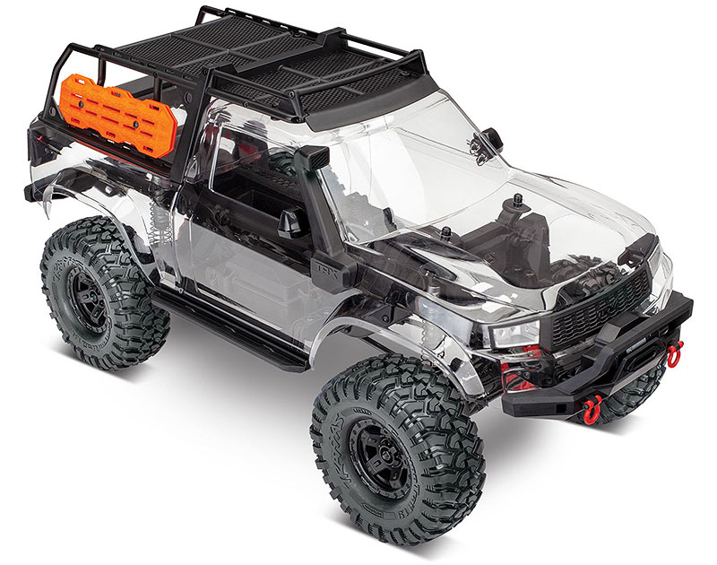 TRX-4 Sport Kit (#82010-4) Three-Quarter Body on (shown as assembled)