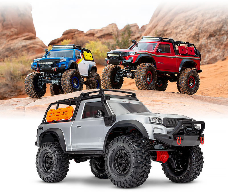TRX-4 Sport Kit (#82010-4) Custom-Painted Bodies Shown