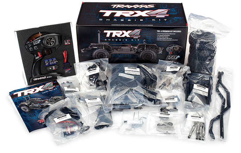 TRX-4 Crawler Kit (#82016-4) Included in the Box