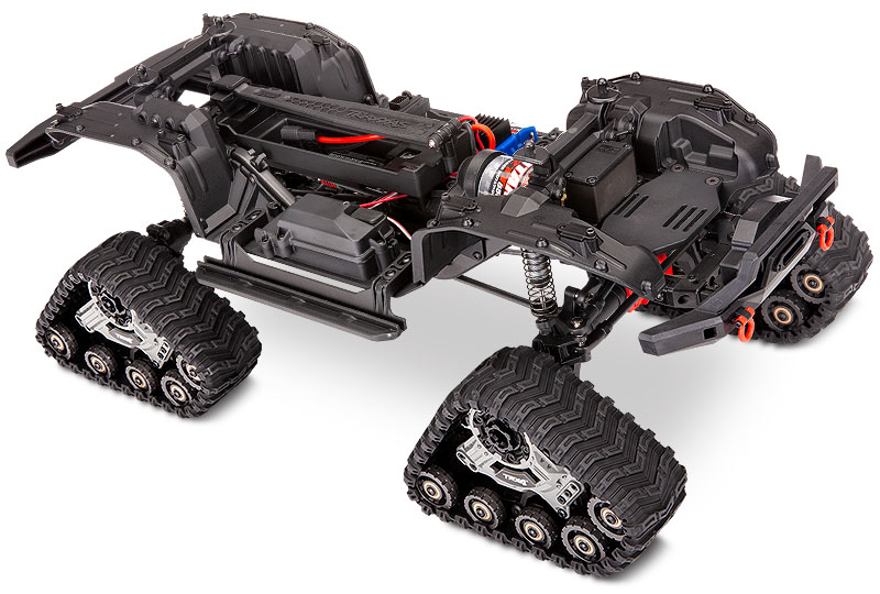 TRX-4 Equipped with TRAXX (#82034-4) Chassis Three-Quarter View
