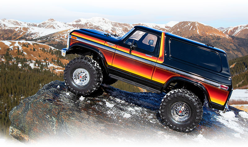 TRX-4 Scale and Trail Crawler with Ford Bronco Body: 4WD ...