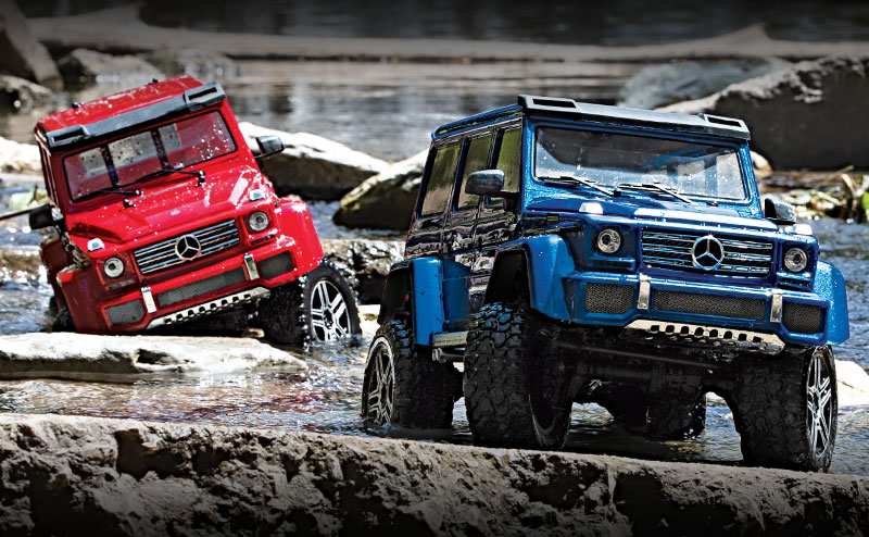 TRX-4 Mercedes-Benz G 500 4X4² (#82096-4) Action