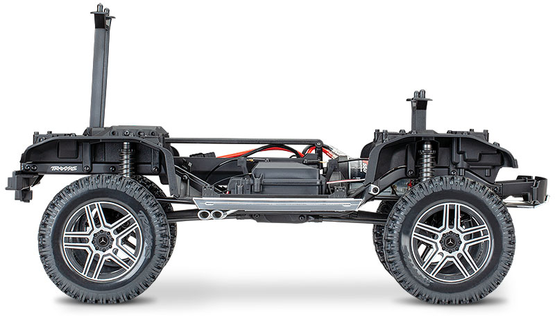 TRX-4 Mercedes-Benz G 500 4X4² (# 82096-4) Chassis Vista Lateral