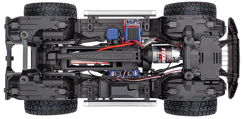 TRX-4 Mercedes-Benz G 500 4X4² (#82096-4) Chassis