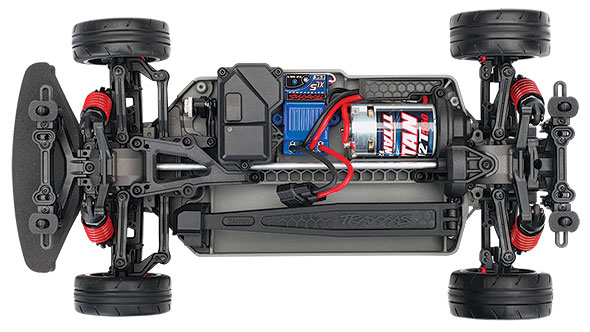 4-Tec 2.0 Chassis Top View