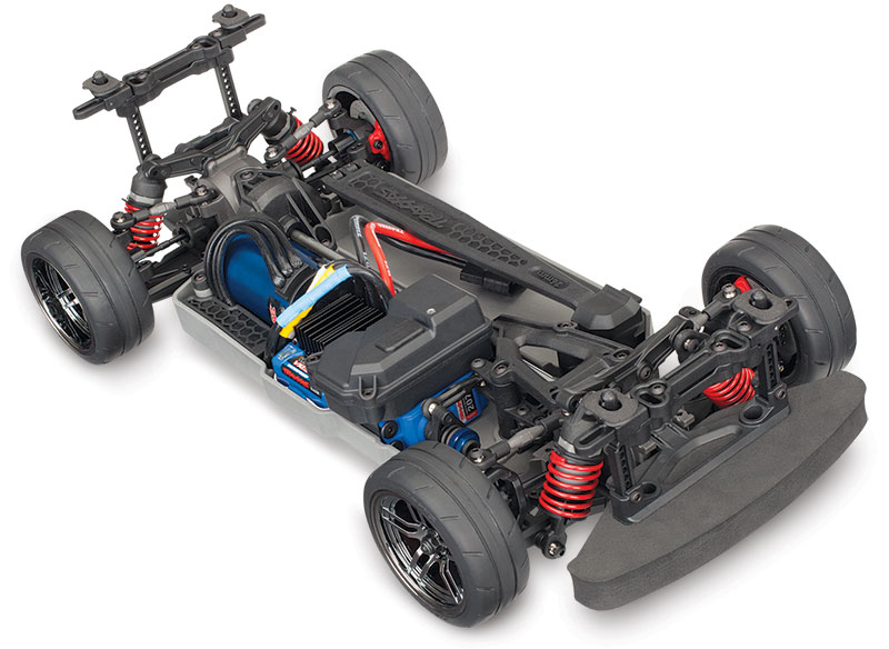 4-Tec 2.0 AWD Chassis VXL (#83076-4) Three-Quarter View