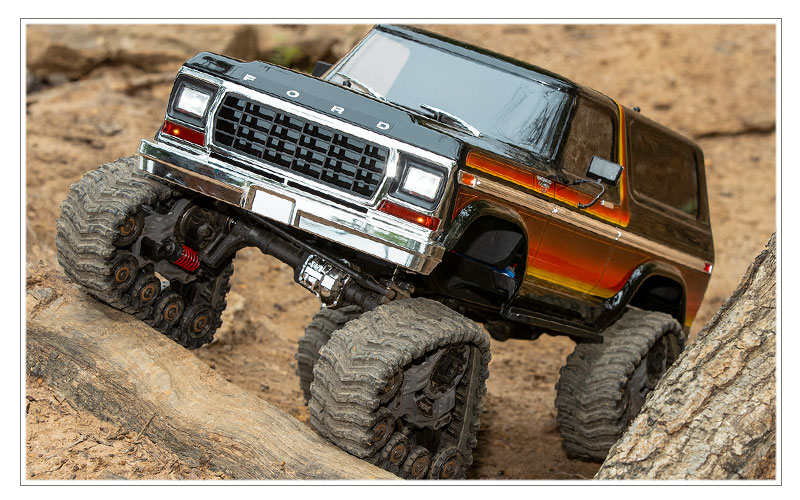 Increased Approach Angle - TRX-4 All-Terrain Traxx