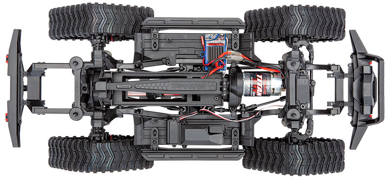 TRX-4 All-Terrain Traxx (#8880) on TRX-4 Sport Chassis