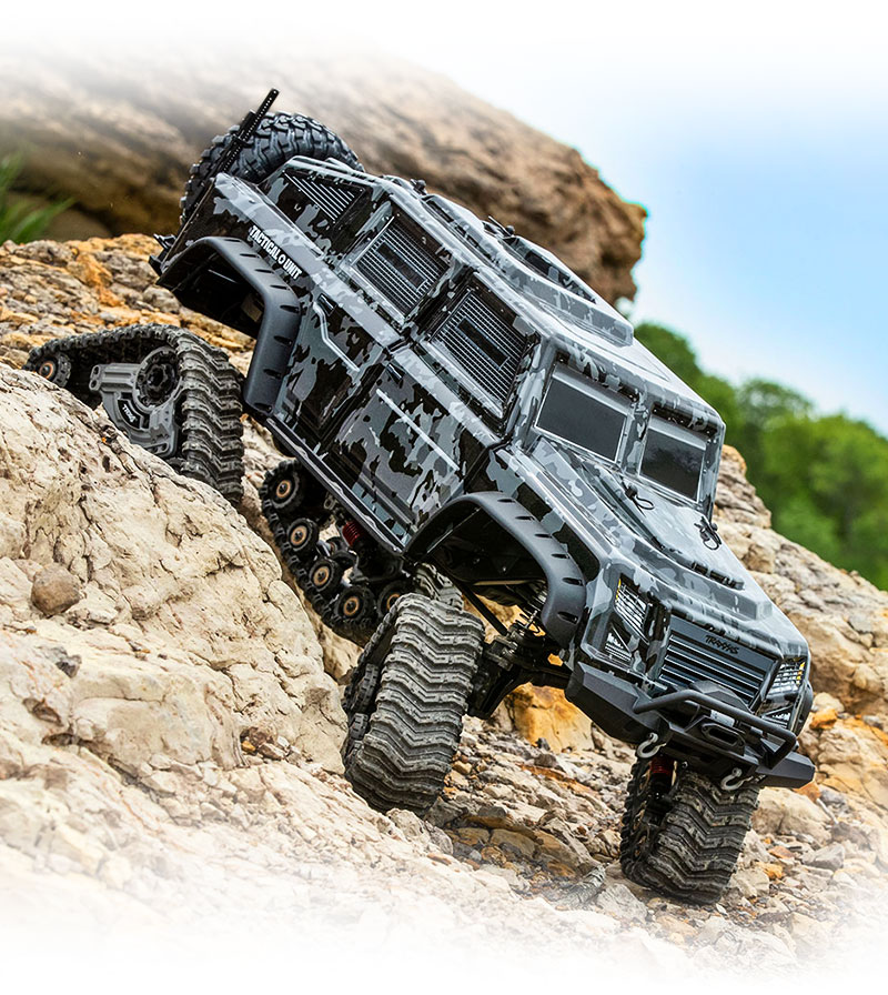 TRX-4 All-Terrain Traxx (#8880) on the Rocks (TRX-4 Tactical)