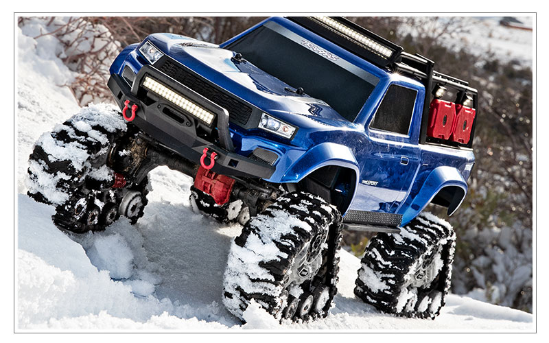 All-Weather Durability - TRX-4 All-Terrain Traxx