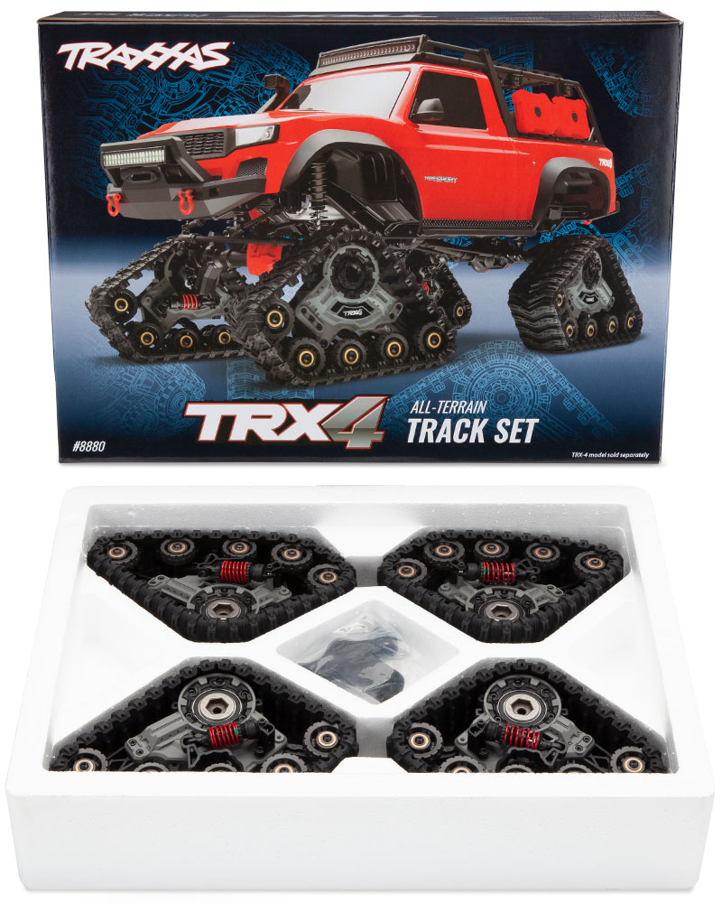 TRX-4 All-Terrain TRAXX (#8880) - Traxx Giftbox and Contents