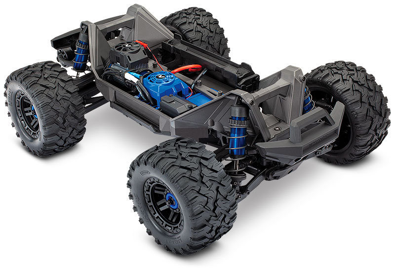MAXX (#89076-4) Chassis Three-Quarter View