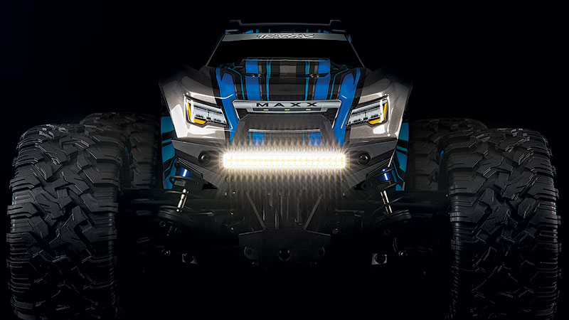 Maxx High-Output Off-Road LED Light Kit (#8990) with Functional Low and High Beam