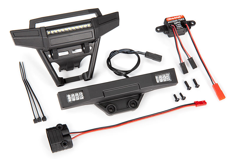 Parts Contents - Hoss 4X4 LED Light Kit (#9095)