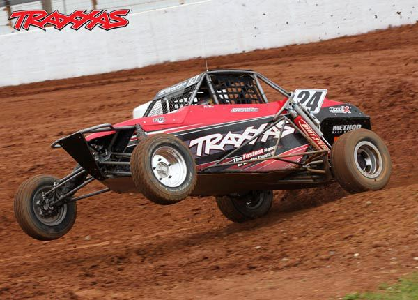 Traxxas and torc take over the dirt track at charlotte for Dirt track at charlotte motor speedway