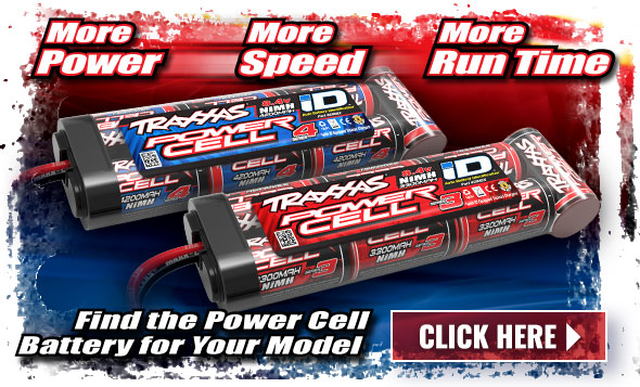 Traxxas Power Cell Batteries