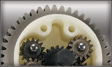 Steel-Composite Planetary Gear Differential