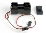 1523 Battery holder with on/off switch/ rubber on/off switch cover
