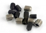 1548 Set (grub) screws, 3x4mm (8)/ 4x4mm (stainless) (4)