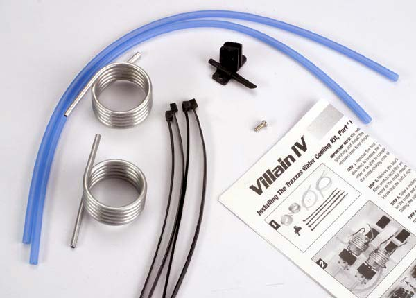 Traxxas 1575 Water Cooling Kit ,  Villain IV
