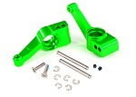 1952G Carriers, stub axle (green-anodized 6061-T6 aluminum) (rear) (2)