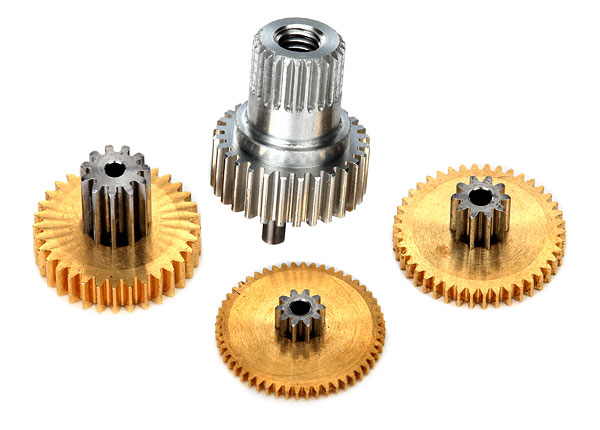 2082X Gear set, metal (for 2080X micro waterproof servo)