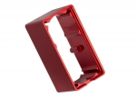 2253 Servo case, aluminum (red-anodized) (middle) (for 2255 servo)