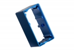 2254 Servo case, aluminum (blue-anodized) (middle) (for 2250 servo)