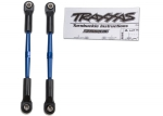 2336A Turnbuckles, aluminum (blue-anodized), toe links, 61mm (2) (assembled w/ rod ends & hollow balls) (fits Stampede®) (requires 5mm aluminum wrench #5477)