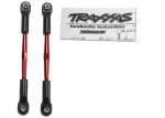 2336X Turnbuckles, aluminum (red-anodized), toe links, 61mm (2) (assembled with rod ends & hollow balls) (fits Stampede®) (requires 5mm aluminum wrench #5477)
