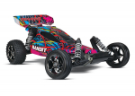 Courtney Force Bandit VXL:  1/10 Scale Off-Road Buggy with TQi Traxxas Link Enabled 2.4GHz Radio System & Traxxas Stability Management (TSM)