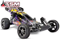 24076-4 Bandit VXL:  1/10 Scale Off-Road Buggy with TQi Traxxas Link Enabled 2.4GHz Radio System & Traxxas Stability Management (TSM)