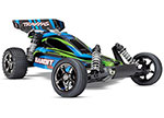 BLUE GREEN Bandit VXL:  1/10 Scale Off-Road Buggy with TQi Traxxas Link Enabled 2.4GHz Radio System & Traxxas Stability Management (TSM)
