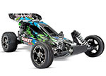 GREEN Bandit VXL:  1/10 Scale Off-Road Buggy with TQi Traxxas Link™ Enabled 2.4GHz Radio System & Traxxas Stability Management (TSM)®