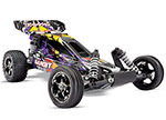 PURPLE Bandit VXL:  1/10 Scale Off-Road Buggy with TQi Traxxas Link™ Enabled 2.4GHz Radio System & Traxxas Stability Management (TSM)®