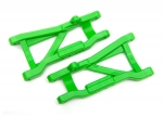 2555G Suspension arms, green, rear, heavy duty (2)