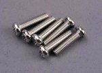 2561 Screws, 3x12mm roundhead machine (6)