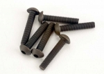 2579 Screws, 3x15mm button-head machine (hex drive) (6)