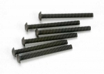 2582 Screws, 3x30mm button-head machine (hex drive) (6)