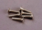 2648 Screws, 3x12mm countersunk self-tapping (6)