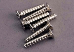 2649 Screws, 3x15mm countersunk self-tapping (6)