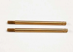 2656T Shock shafts, hardened steel, titanium nitride coated (xx-long) (2)