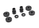 2669 Piston head set (2-hole (2)/ 3-hole (2))/ shock mounting bushings & washers (2) (Big Bore Shocks)