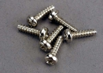 2675 Screws, 3x10mm roundhead self-tapping (6)