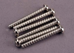 2680 Screws, 3x25mm roundhead self-tapping (6)