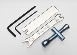Tool Set (1.5mm &2.5mm allens/ 4-way lug, 8mm &4mm wrench & U-joint wrenches)