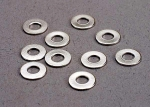 2756 Washers, 3x7 flat metal (10)