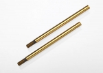 2765T Shock shafts, hardened steel, titanium nitride coated (X-long) (2)