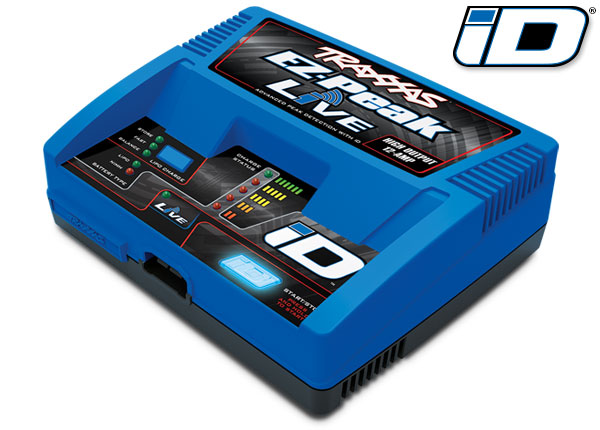 Traxxas 2971 Charger ,  EZ-Peak® Live ,  100W ,  NiMH / LiPo with iD® Auto Battery Identification